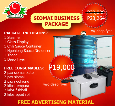 siomai supplier , ngohiong supplier, tempura supplier , squid ball supplier, sisig supplier fishball supplier, shake powder supplier, baking depot, siopao supplier, baking ingredients, boxes and boards www.chefmist.com 0943-283-7292 0995-953-7692