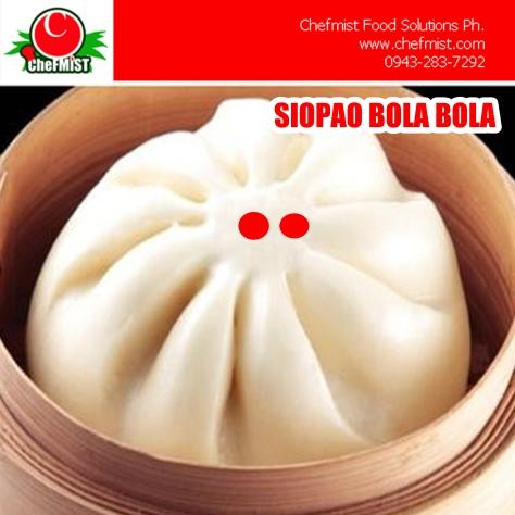 SIOPAO SUPPLIER PHILIPPINES CHEFMIST FOODS